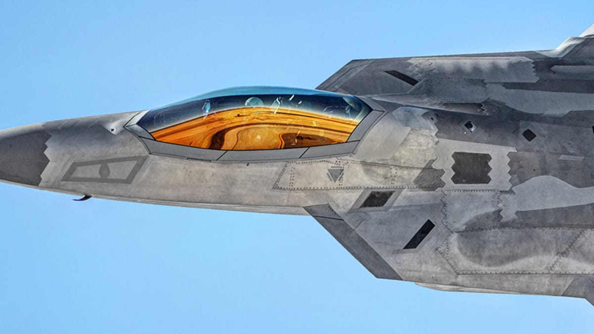 The F-22 Raptor Bloodies Its Talons In First Attack Over Syria