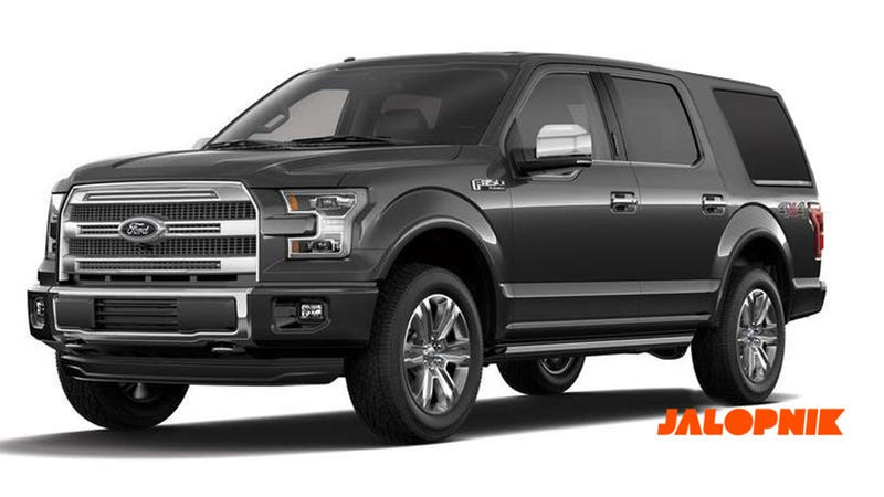 2018 Ford Expedition Looks Like That New Bronco You Ve