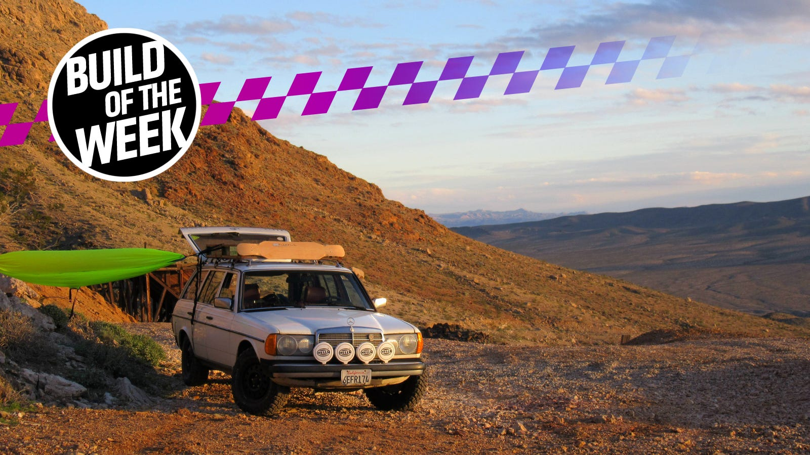 How To Turn An Old Diesel Mercedes Into The Ultimate Off