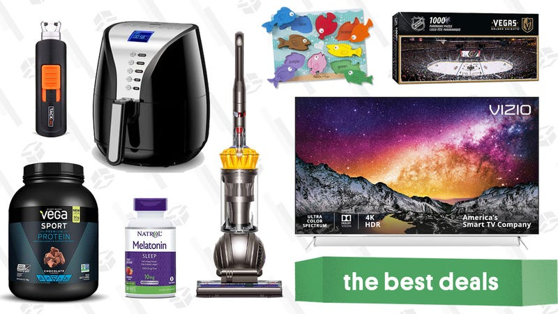 Illustration for article titled Thursday's Best Deals: Dyson, Chicken Wings, Puzzles, and More
