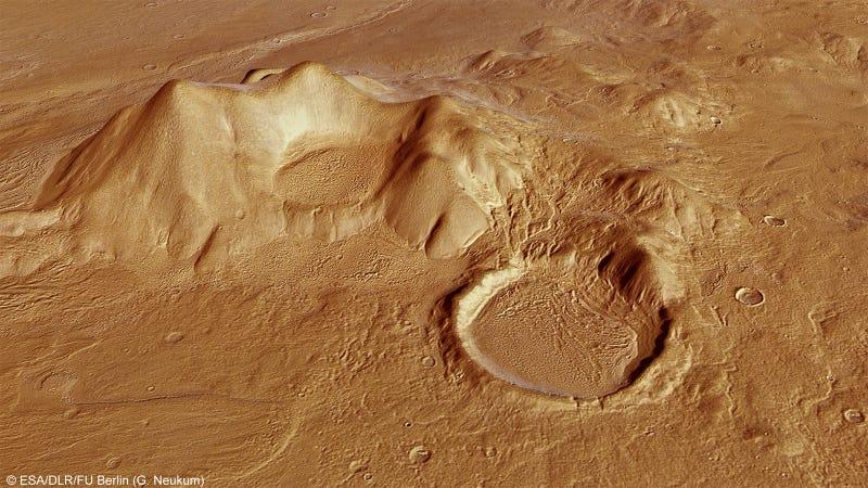 Illustration for article titled La vida en la Tierra pudo haberse originado en Marte