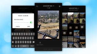 Illustration for article titled Slidebox Quickly Organizes iOS Photos Into Albums