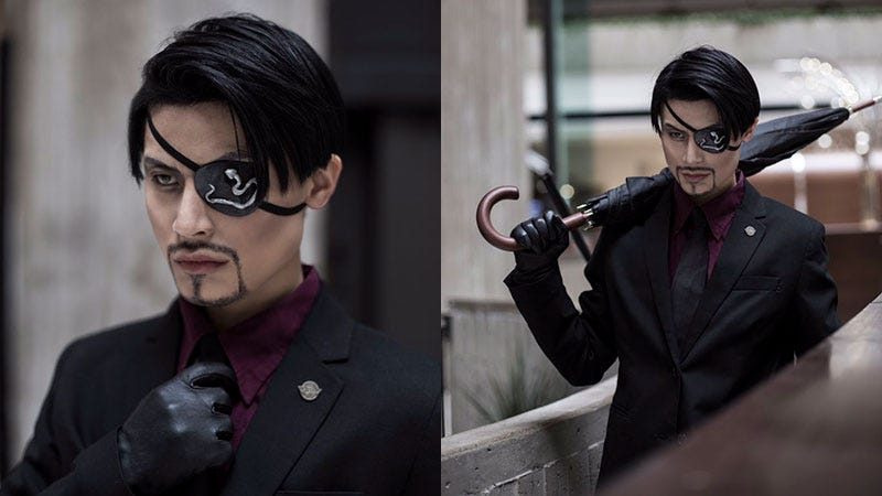 Illustration for article titled Yakuza Cosplay Is My Kind Of Cosplay