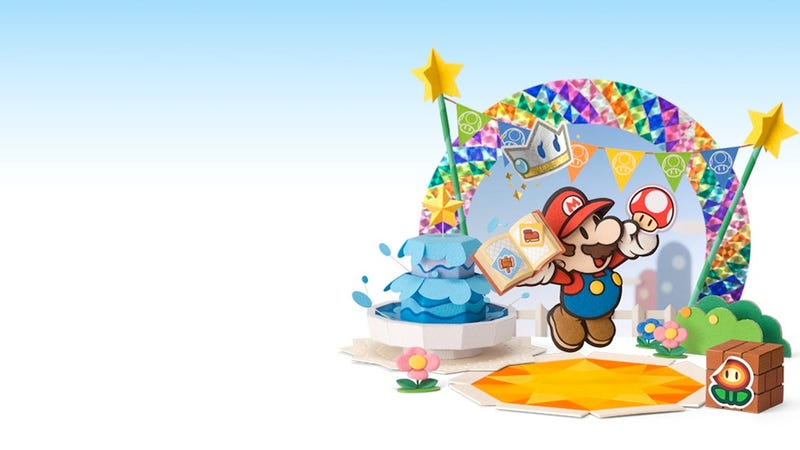 Illustration for article titled The Next Paper Mario Reminds Me Why I Cherished Stickers As A Kid