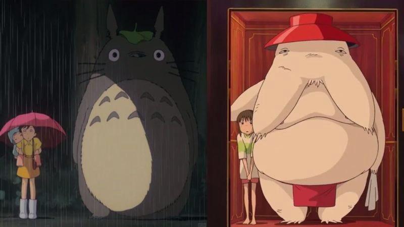 My Neighbor Totoro, Spirited Away
