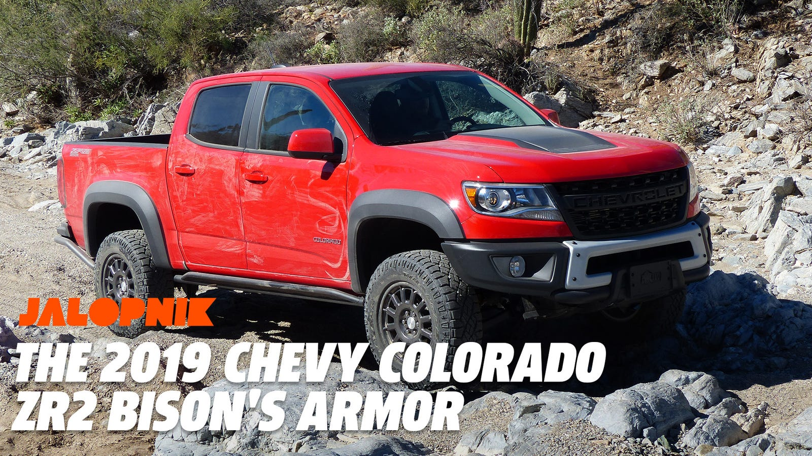 Here's a Closer Look at the 2019 Chevy Colorado ZR2 Bison ...
