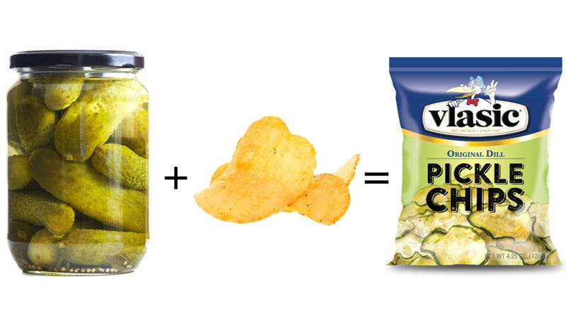 Illustration for article titled Pickle chips coming