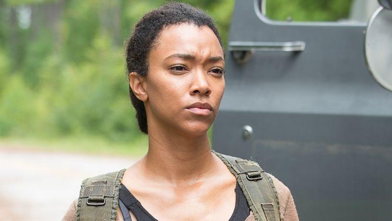 Sonequa Martin-Green as Sasha in The Walking Dead