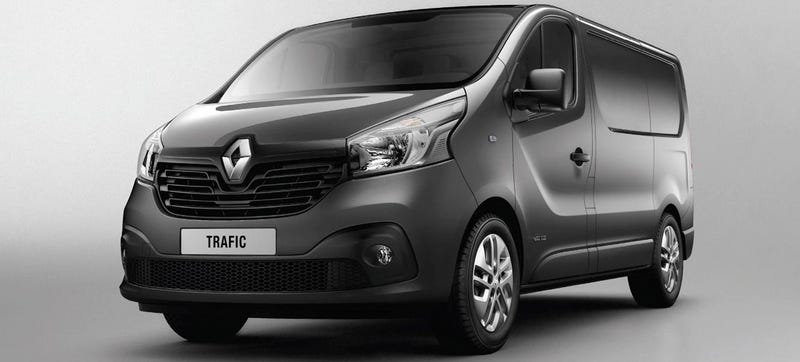 Illustration for article titled Surprisingly Slick New Trafic Van Joins Renault's Wacky Cargo Lineup