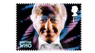 Illustration for article titled Official Doctor Who stamps are the next best thing to a Time Lord message cube