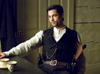 Illustration for article titled Brad Pitt To Star In Red Dead Redemption Movie?