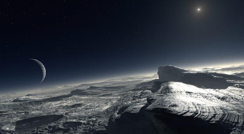 ¿Cómo sería tu ciudad con la luz que hay en Plutón? La NASA te lo enseña