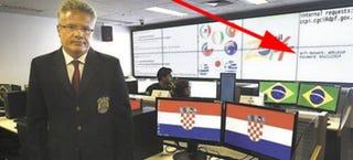Illustration for article titled El centro de seguridad del Mundial filtra por error su contraseña WiFi