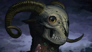 Illustration for article titled The ram-skulled god is ready to invade your nightmares