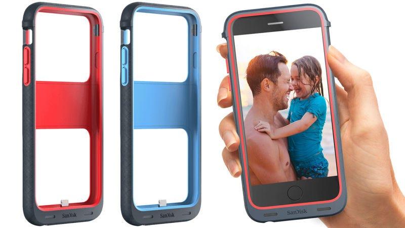 Illustration for article titled Estas fundas añaden hasta 128 GB de almacenamiento extra a tu iPhone
