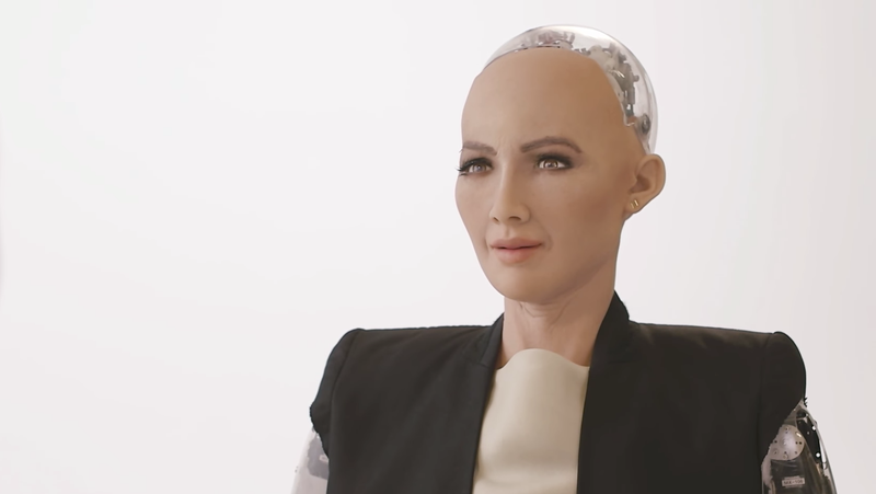 Image: Hanson Robotics / YouTube