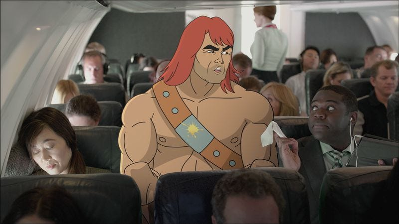 Illustration for article titled Son Of Zorn premiere works through the awkwardness