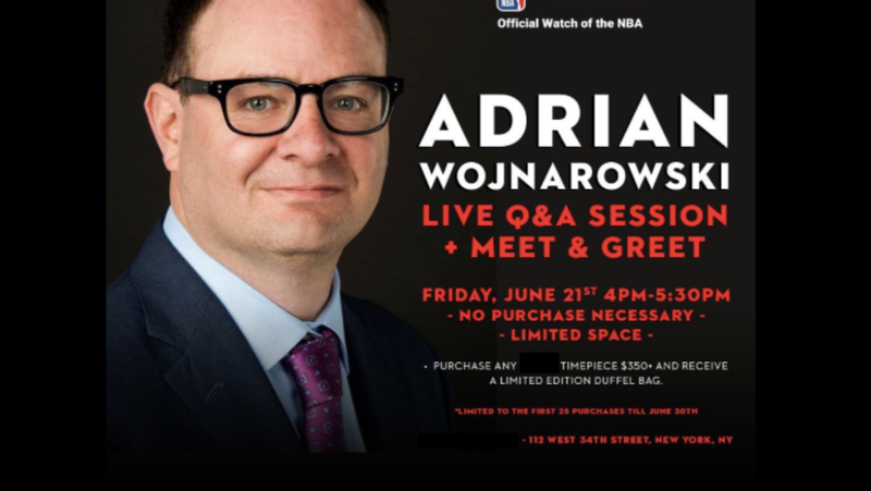 ESPN's Adrian Wojnarowski Is Now A Corporate Shill For An NBA Sponsor