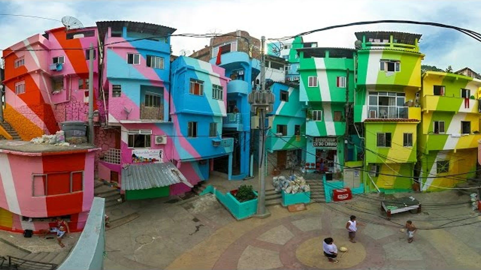 How a Simple Lick of Paint Can Transform Our Urban Environment