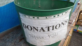 "Create a ""Donation Station"" to Downsize Your Clutter"