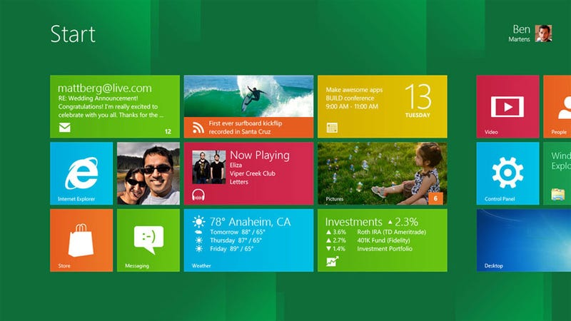 Illustration for article titled There's Xbox Live Inside Every Copy of Windows 8