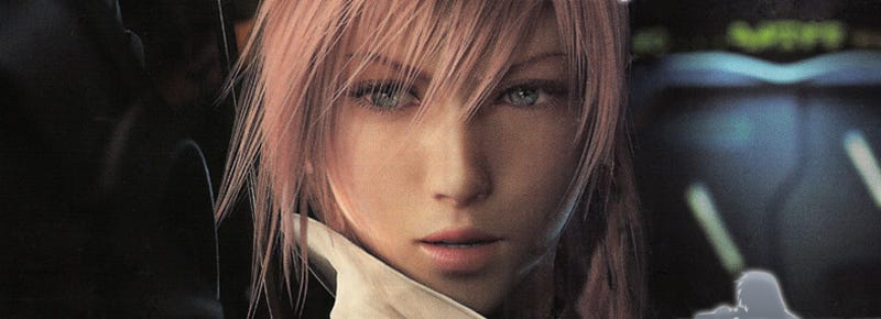 Illustration for article titled High Quality In-Game Final Fantasy XIII Gameplay Images