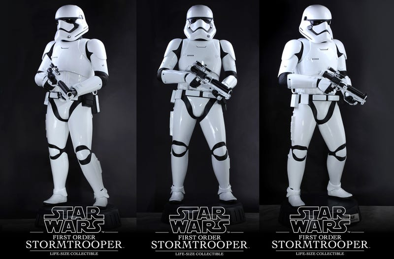 Illustration for article titled The Ultimate Star Wars Action Figure Is Life-Sized and Costs $8,000