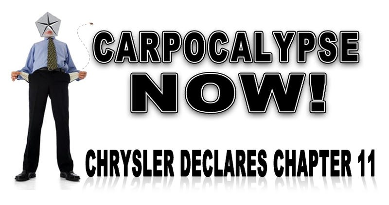 Illustration for article titled Chrysler Officially Files For Bankruptcy, To Partner With Fiat