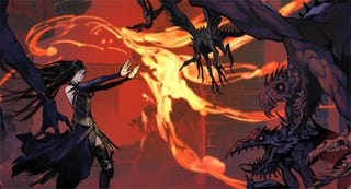Illustration for article titled Castlevania: Order of Ecclesia Review: M-M-M-My Shanoa