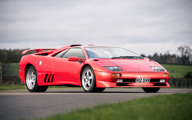 Illustration for article titled Final Lamborghini Diablo Made In 20th Century Goes To Auction Next Month