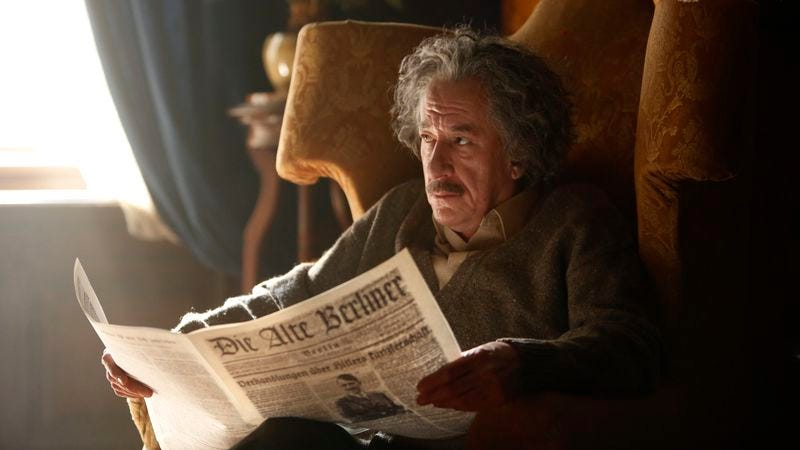 Geoffrey Rush in Genius (Photo: Dusan Martincek/NatGeo)