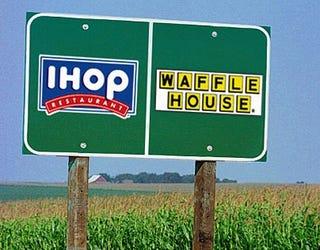 Illustration for article titled Mason-Dixon Line Renamed IHOP-Waffle House Line
