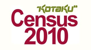 Illustration for article titled Kotaku Census 2010: The Results (In Full)