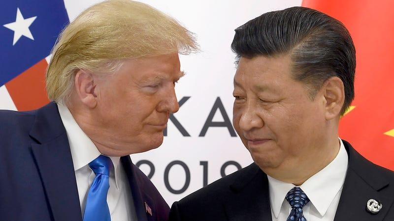 Illustration for article titled Trump retira el veto que impide vender tecnología a Huawei en medio de las negociaciones con China