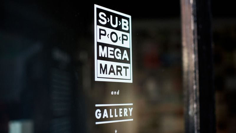 Illustration for article titled Sub Pop is opening a store in the Seattle airport