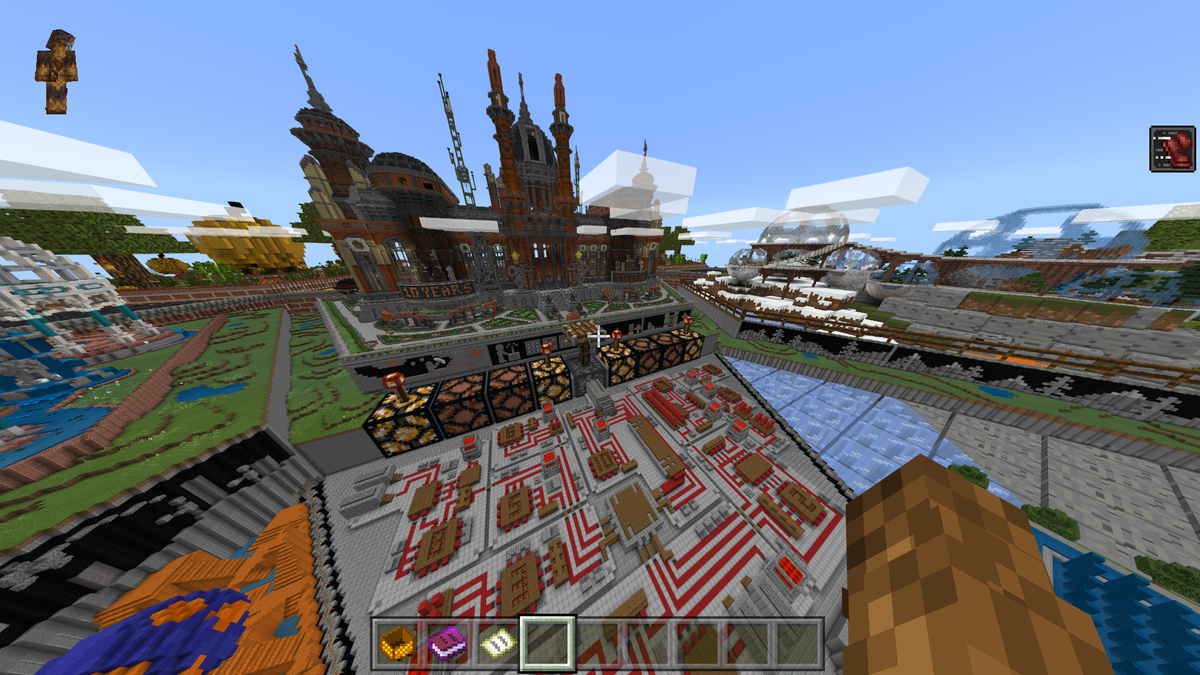 Minecraft's New 10th-Anniversary Map Is Awesome And Hides A