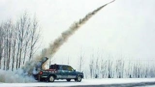 Illustration for article titled How China controls the weather with rockets launched from pickups
