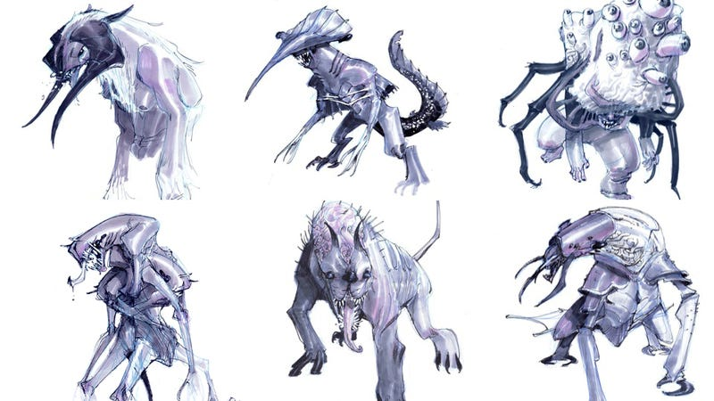 Illustration for article titled Would you let your children watch a show that featured these horrifying creatures?