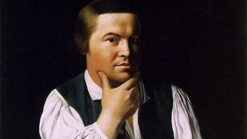 Illustration for article titled Paul Revere may finally get what's coming to him with new AMC comedy