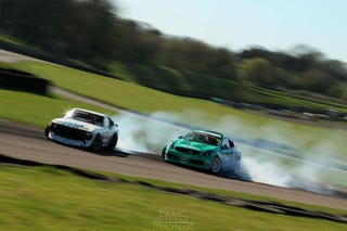 Illustration for article titled British Drift Championship: Lots of Oppo