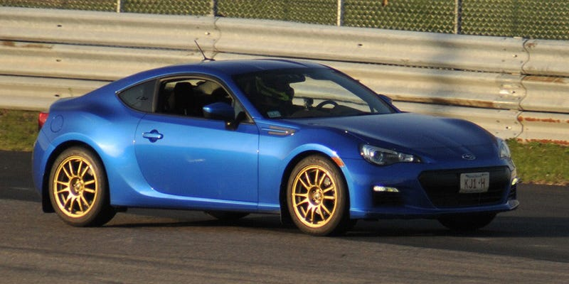 Illustration for article titled The Subaru BRZ Has Plenty Of Power