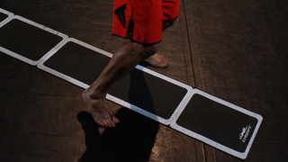 """Illustration for article titled Boost Your Coordination and Focus With """"Agility Ladder"""" Workouts"""