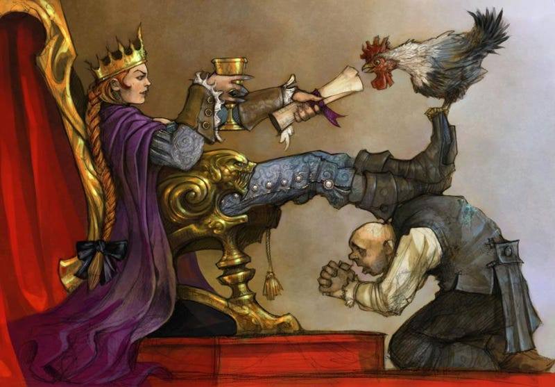 Illustration for article titled Fable III's Three Big Innovations: Touch, Weapons And Kingly Responsibility
