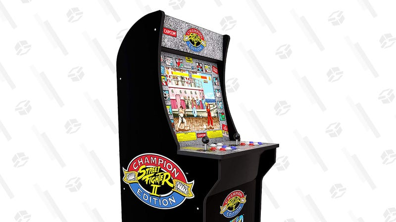 Arcade1Up Street Fighter Classic 3-in-1 Home Arcade | $200 | Amazon | Clip on-page coupon