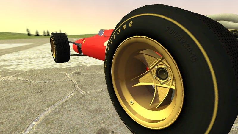 Illustration for article titled 1967 Ferrari 312