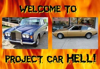Illustration for article titled Project Car Hell: Silver Shadow or Bagheera?