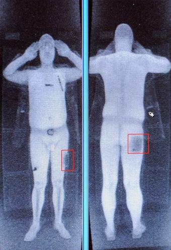 Illustration for article titled Do Full Body Scanners Break Child Porn Laws?