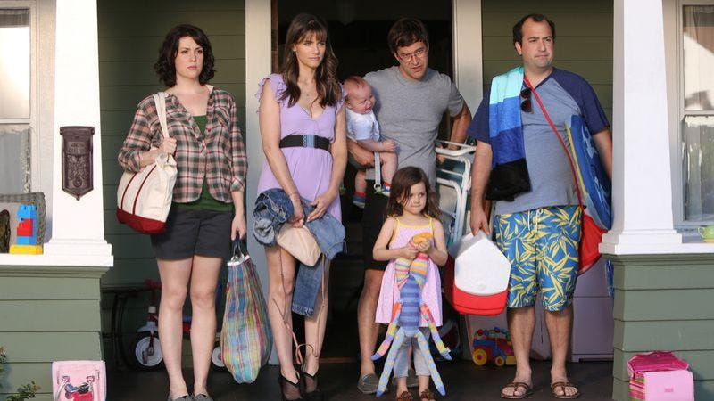The cast of Togetherness