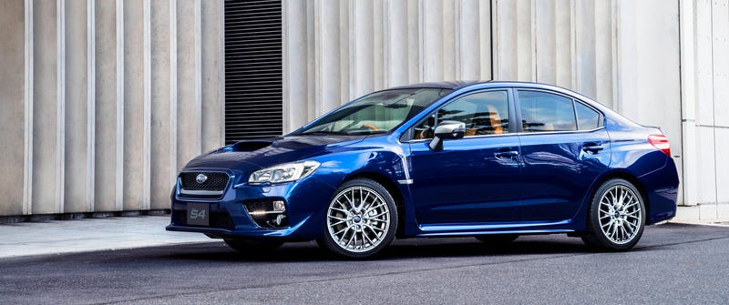 Illustration for article titled The Subaru WRX S4 SporVita Is The Luxury WRX The World Needs