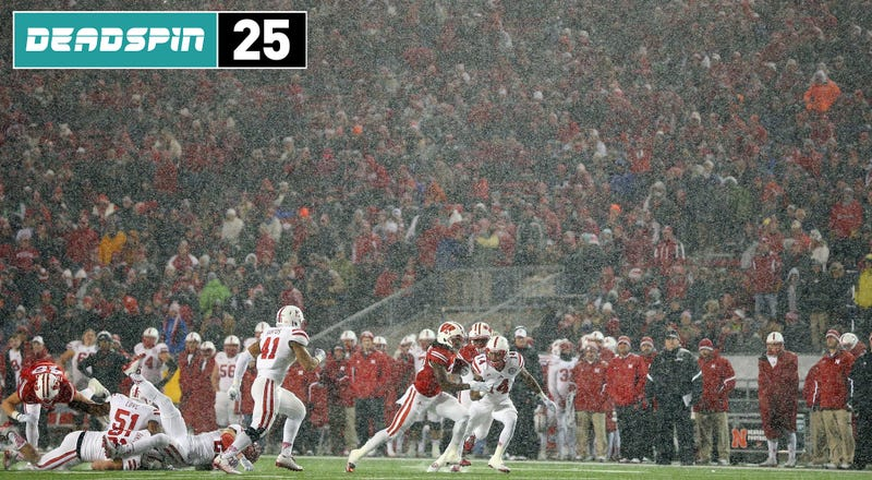 Illustration for article titled Deadspin 25: Without Melvin Gordon, Wisconsin Is Just Whatever